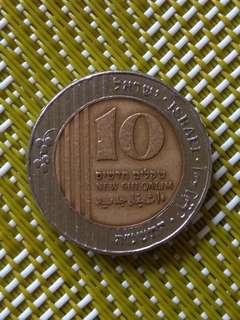 以色列硬幣