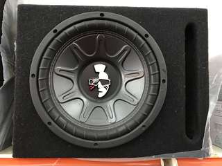 "Mohawk 10"" Double Magnet Woofer & Box"