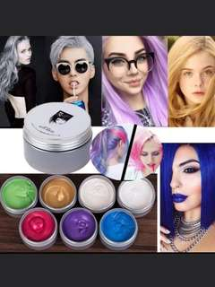 🚚 Temporary Color Hair Cream Hair Wax