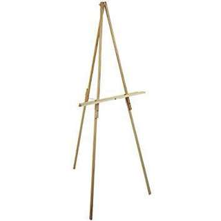 [Rent] Foldable Wooden Easel Stand