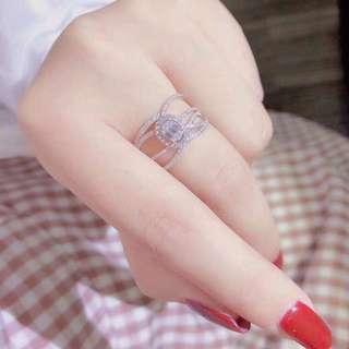 18k0.46ct鑽石戒指