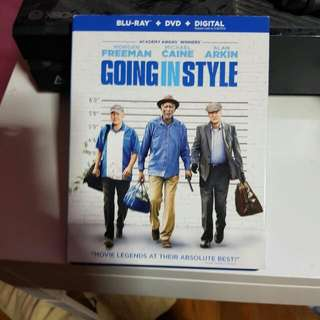 Going In Style Blu Ray