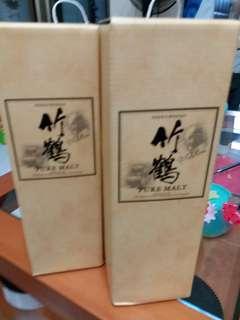 竹鶴威士忌700ml吉盒,每個