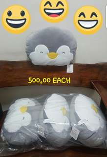 Miniso Japan Plush Toy / Pillow Penguins