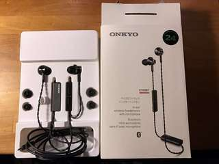全新 Onkyo E700BT earphone 耳機 b&o beats bose