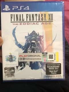 PS4 new final fantasy zodiac