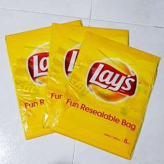 🚚 Lay's Fun Resealable Bag