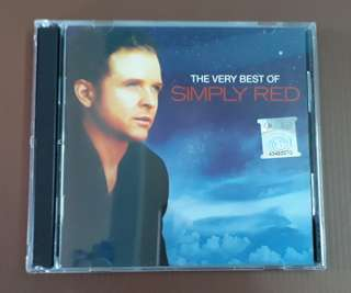 CD Simply Red - The  Very Best Of ( 2 CD Compilation ) M'sia Press