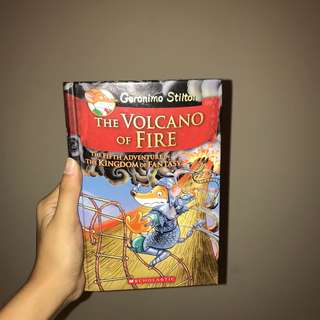 Geronimo Stilton The Volacano of Fire