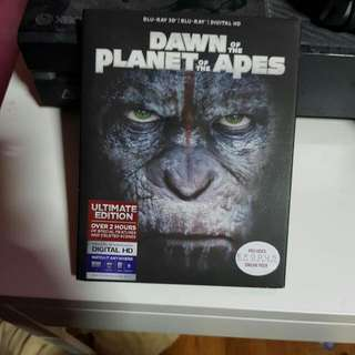 Dawn Of The Planet Of Apes 3D/2D