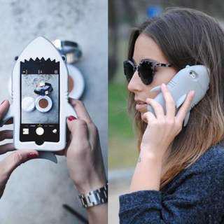 🚚 Stella McCartney鯊魚手機殼、Iphone6/6s、軟殼