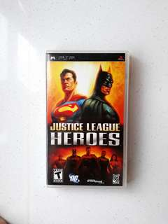 PSP UMD Justice League Heroes