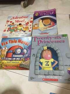 Scholastic books for kindergarten
