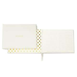 🚚 Kate Spade for the Mr. & Mrs. Wedding Guest Book