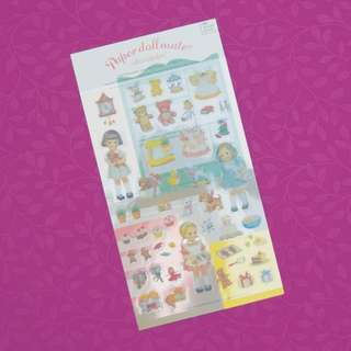 Paper Doll Mate Baking Diary Deco Stickers