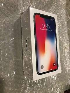 Iphone x black 256gb