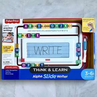 (In-Stock) Fisher-Price Think & Learn Alpha Slide Writer (Brand New)