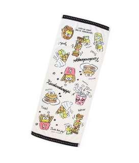日本 Sanrio 直送粉筆畫系列 Kerokerokeroppi 毛巾 / 浴巾