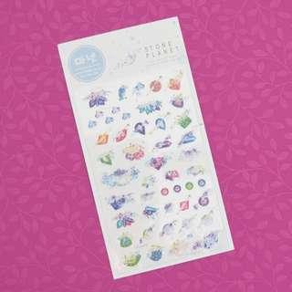 Monet Stone Planet Diary Deco Stickers