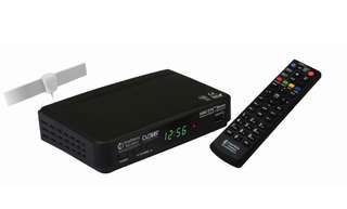 NEWMEDIA SOLUTIONS STB2-T2+ANT2-3A DVB-T2 SET-TOP BOX BUNDLE WITH ANTENNA