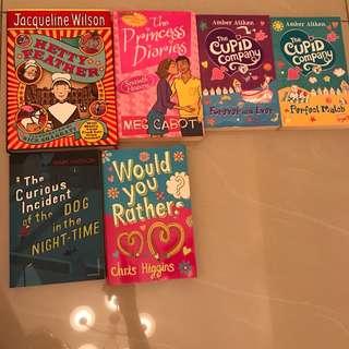 Pre Teen books