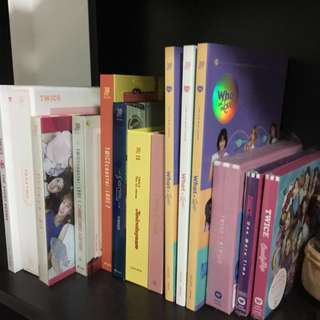 Twice albums for sale :)