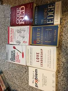 Self improvement and management books