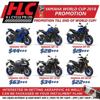 Yamaha World Cup 2018 Promo