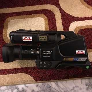 Panasonic Full HD Video Camera Camcorder Live Feed