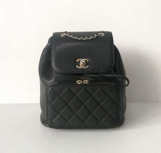 Authentic Chanel Affinity Business Backpack