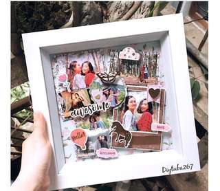 Customised Shadow Box - 3D photo frame