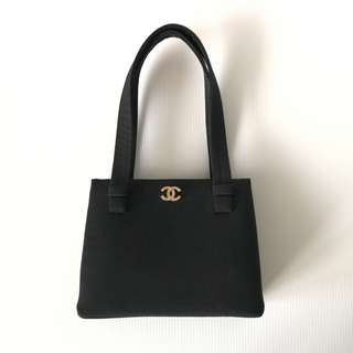 Authentic Chanel Classic Small Tote Bag