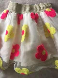 Floral Tutu skirt