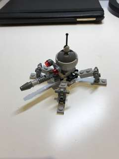 Authentic Lego Star  are dwarf spider droid