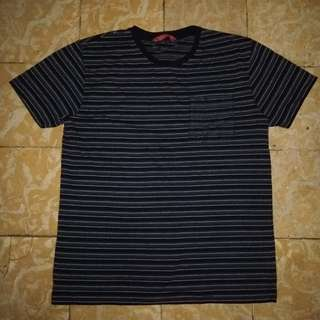 Penshoppe Relaxed Fit Striped Tee (S)