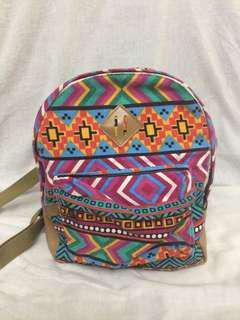 Tribal Mini Backpack