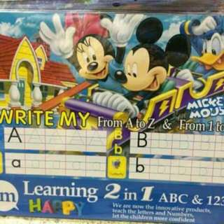 Write and erase learning book