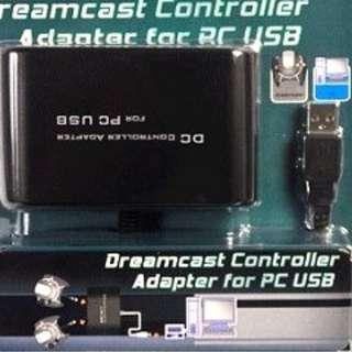 在PC用 Dreamcast dc控制器適配器 1對2 /DC Controller Adapter for PC
