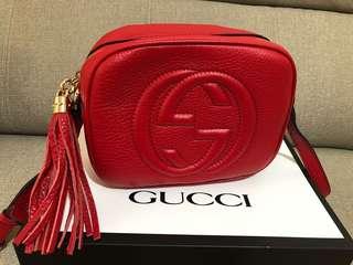 Gucci Disco 紅色。9.9成新
