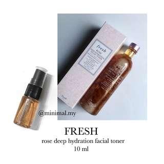 FRESH rose deep hydration toner (trial)