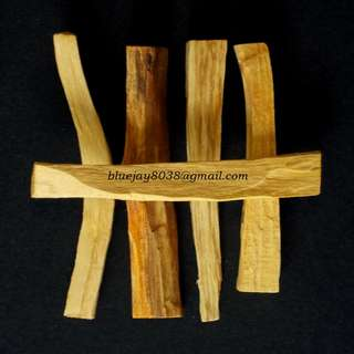 Palo Santo Sticks for PURIFICATION Smudge Ceremony - Five -- 00158