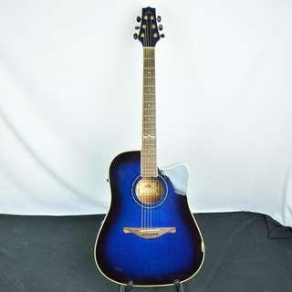 Twin Balon studio 藍黑漸層 入門款 電木吉他*現金收購 樂器買賣 二手樂器吉他 鼓 貝斯 電子琴 音箱 吉他收購