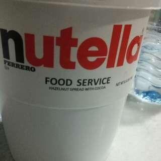 Nutella bucket 3kg