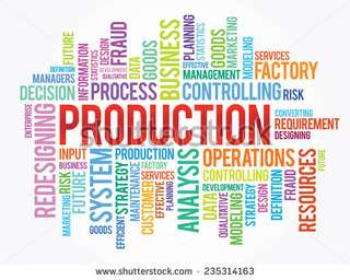 (Night & Day shift)  Production Assistant