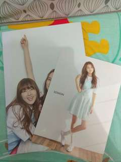 GFRIEND Sowon Poster Card & Group Poster