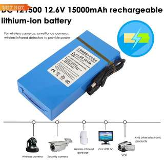 DC12V Lithium-ion Rechargeable Battery (15000mah) for Escooter Ebike LED Light