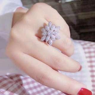 18k1.11ct鑽石戒指