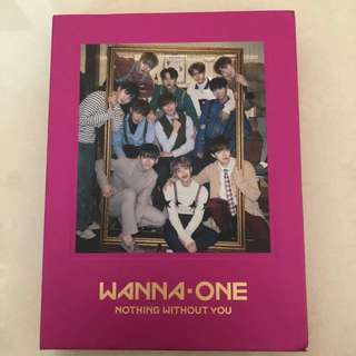 [WTS] WANNA ONE NOTHING WITHOUT YOU ALBUM-- ONE VERSION
