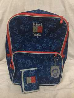 SALE Backpack + Wallet Busquets 400rb