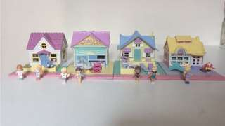 Vintage Polly Pocket Complete Sets